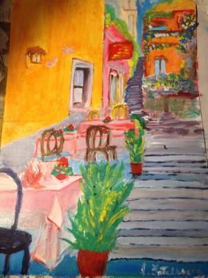Taormina I, acrilico 21×29