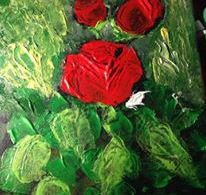 Rose – acrilico su tela 40×50